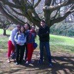 De gauche à droite : Lou, Marilou, Moi, Angy, Gael. (Et il manque Elodie, la photographe)